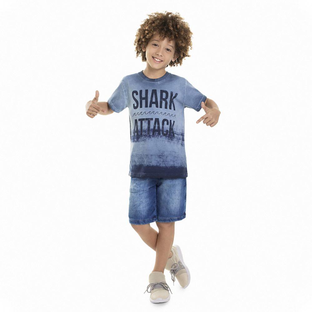 Camiseta Menino Quimby Shark 28054