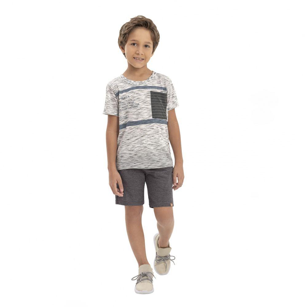 Camiseta Menino Quimby Surf Area com Rajadas 28168