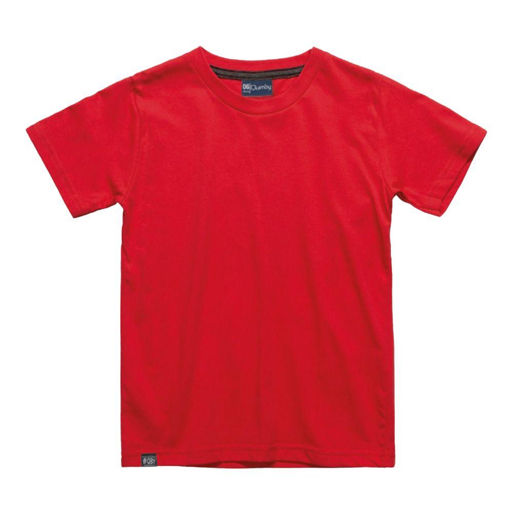 Camiseta Menino Quimby Vermelho 27994