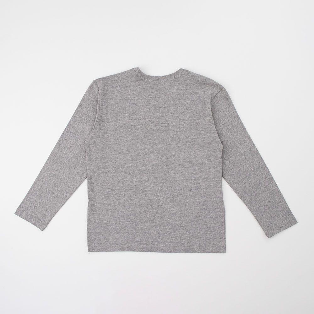 Camiseta Menino Reserva Básica Cinza 50754