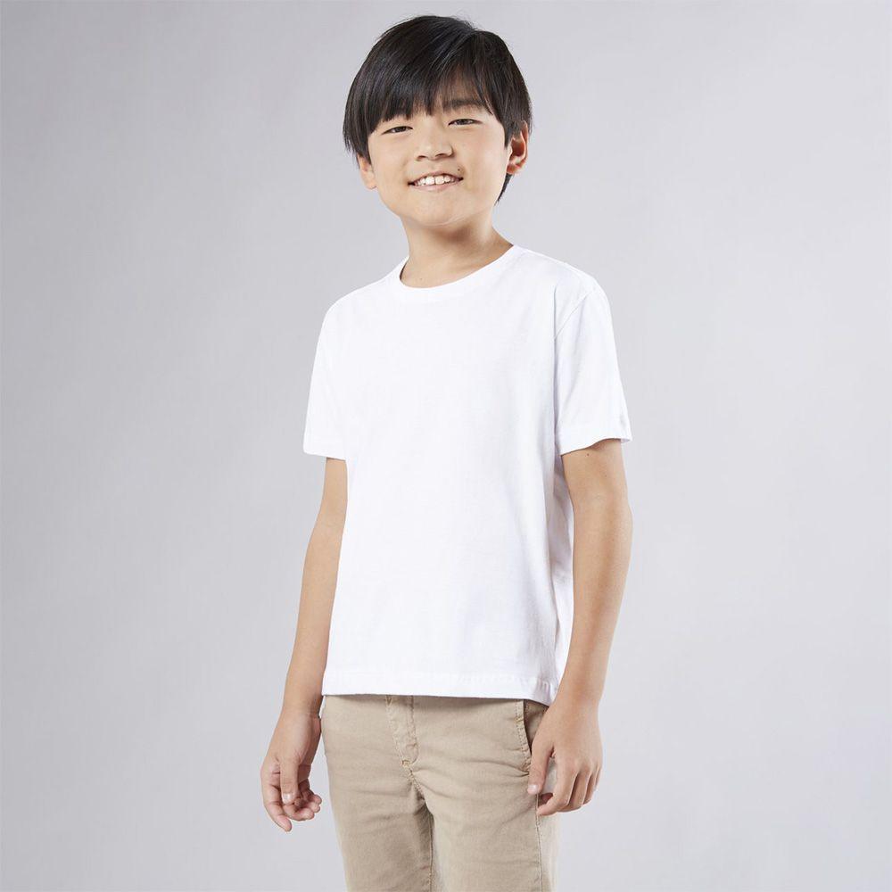 Camiseta Menino Reserva Básico Branca 44779
