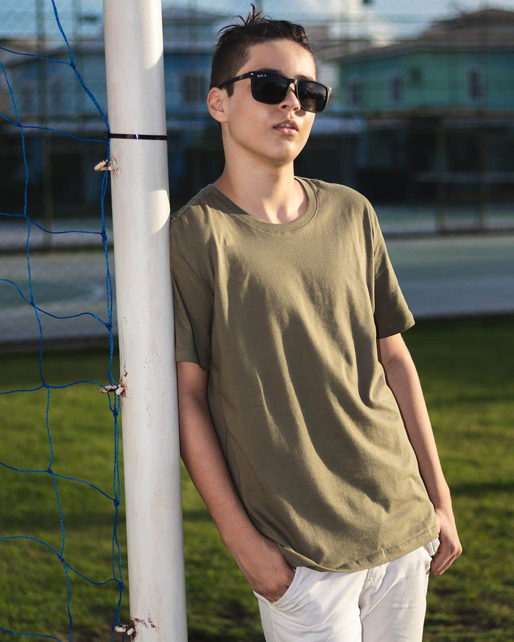 Camiseta Menino Reserva Básico Verde 44779