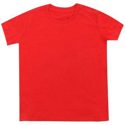 Camiseta Menino Reserva Básico Vermelha 44779