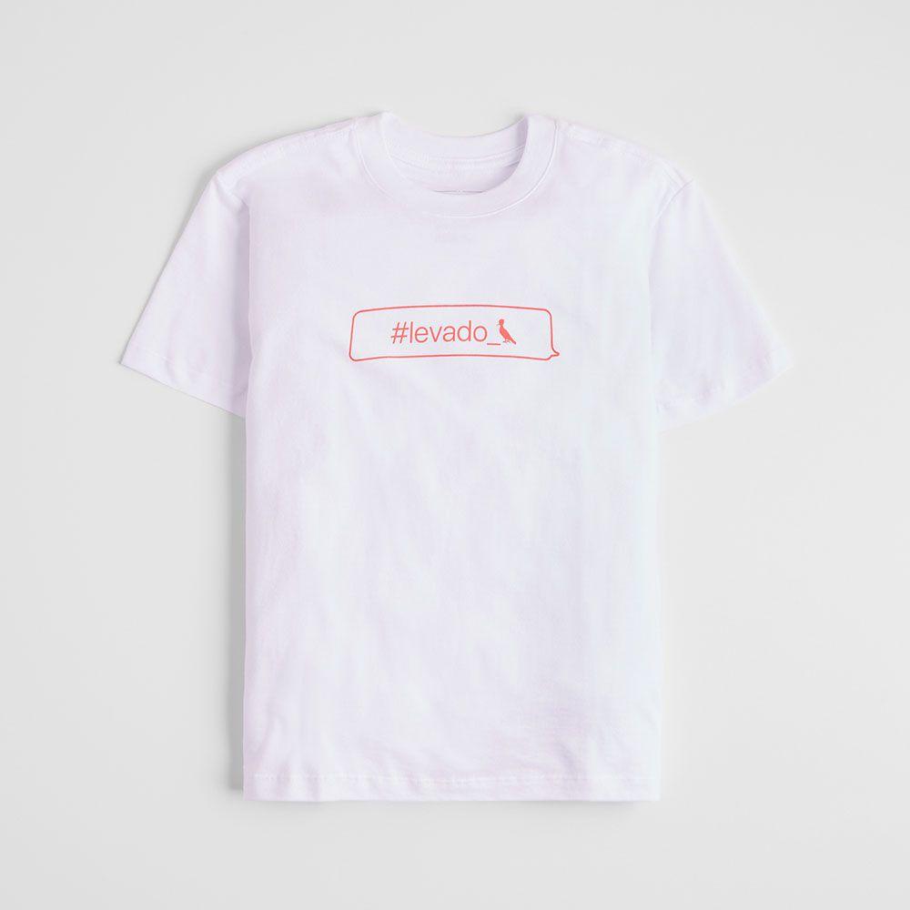 Camiseta Menino Reserva Branca Levado 46977