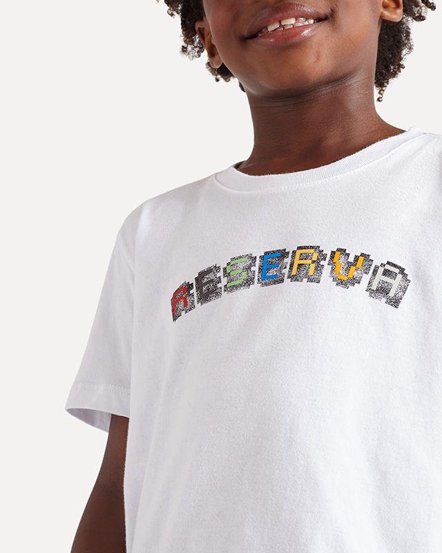 Camiseta Menino Reserva Color Branco 52690