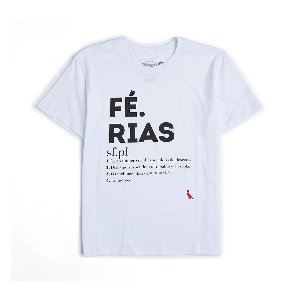 Camiseta Menino Reserva Férias 41084