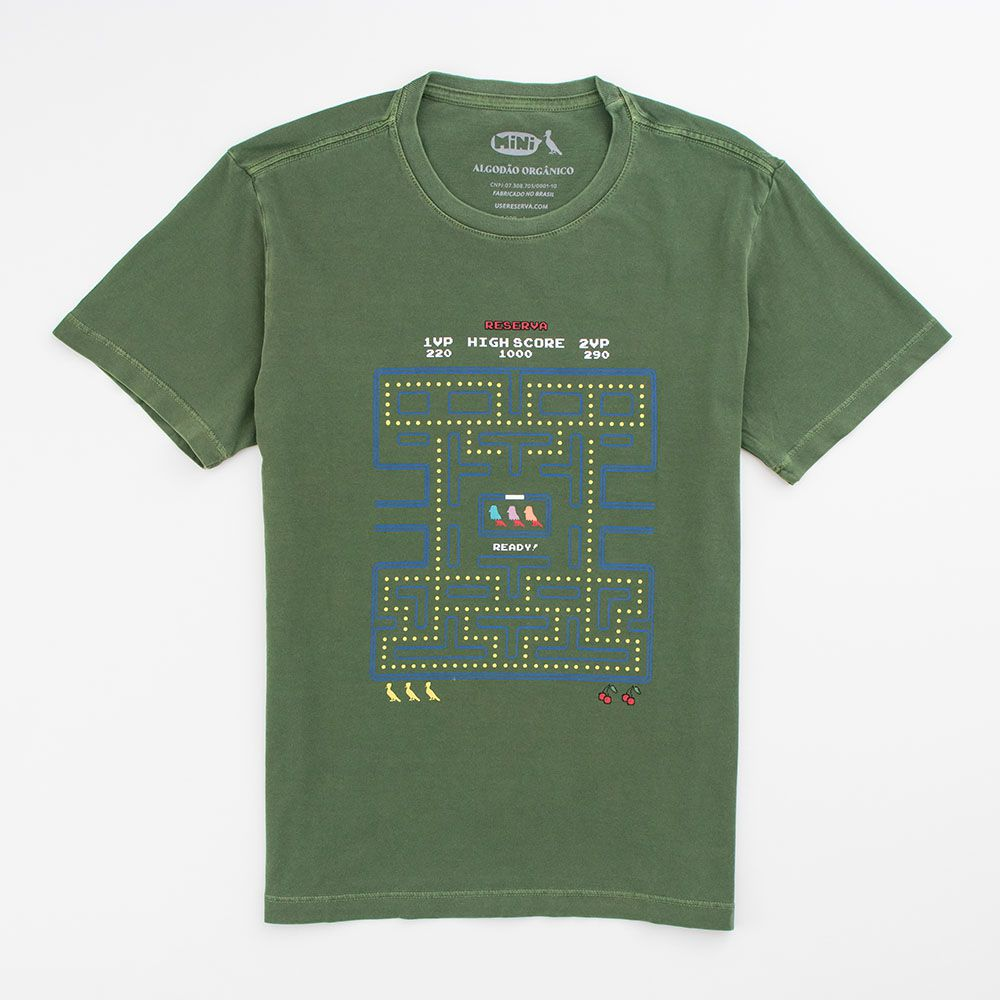 Camiseta Menino Reserva Game Ready Verde 50741