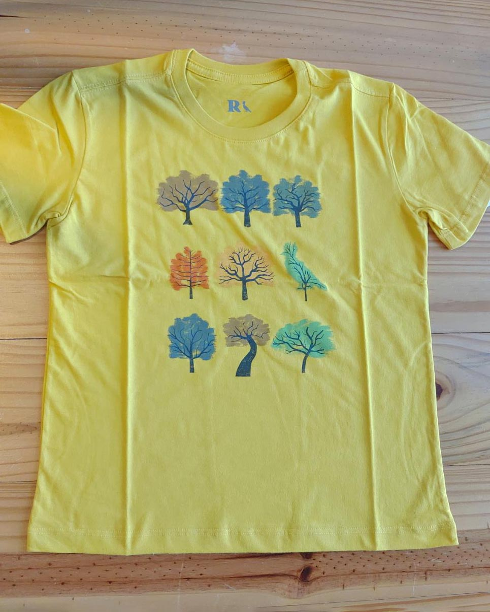 Camiseta Menino Reserva Green Wood Mostarda 52672