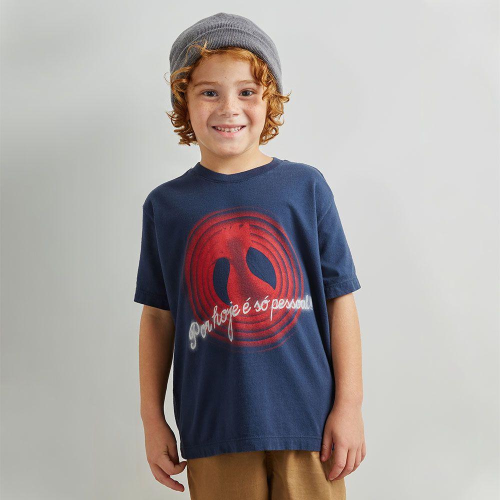 Camiseta Menino Reserva Por Hoje É So Pessoal 45688