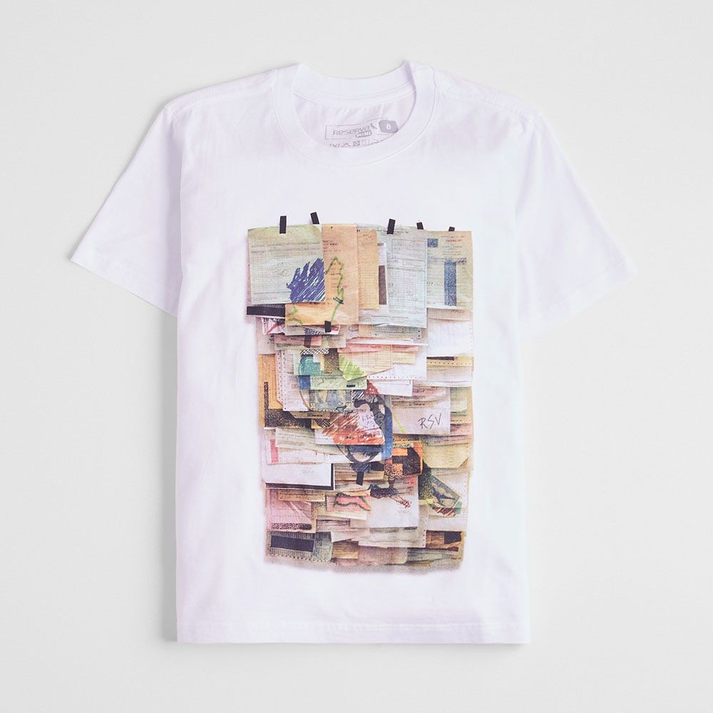 Camiseta Menino Reserva Post It 46924