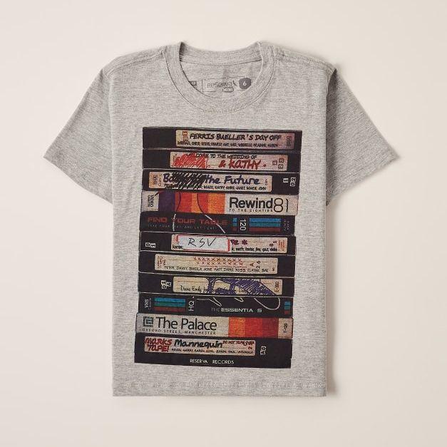Camiseta Menino Reserva Tape 47213
