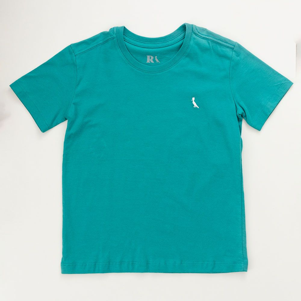 Camiseta Menino Reserva Turquesa Básica 46643