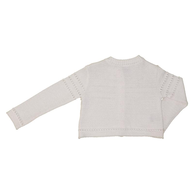 Casaco Beabá Tricot Branco 808022