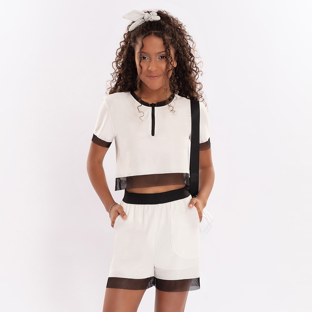 Conjunto Menina Bobbylulu Fashionable B21222