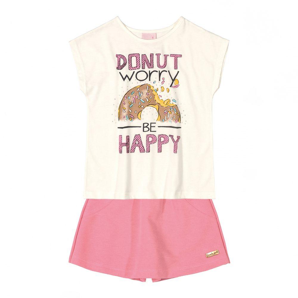 Conjunto Menina Quimby Donut Worry 28109