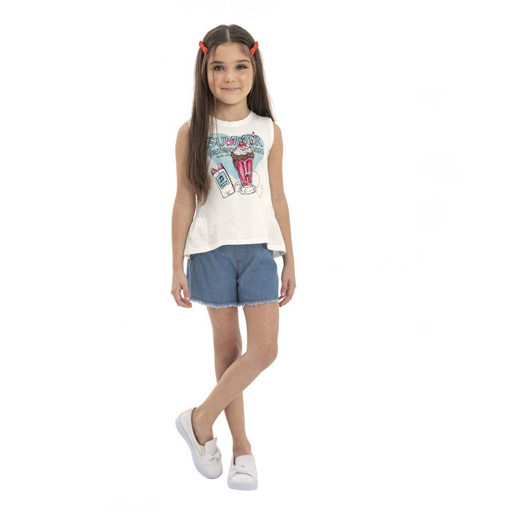 Conjunto Menina Quimby Summer Fashion Icon 28128