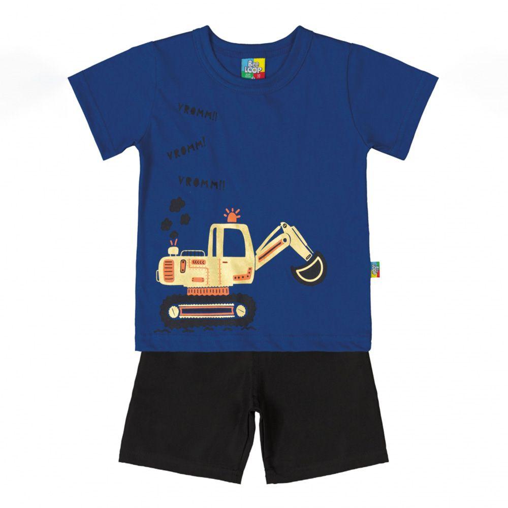 Conjunto Bee Loop Camiseta e Bermuda 13435