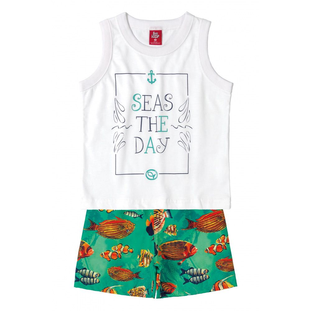 Conjunto Menino Bee Loop Seas The Day 13599