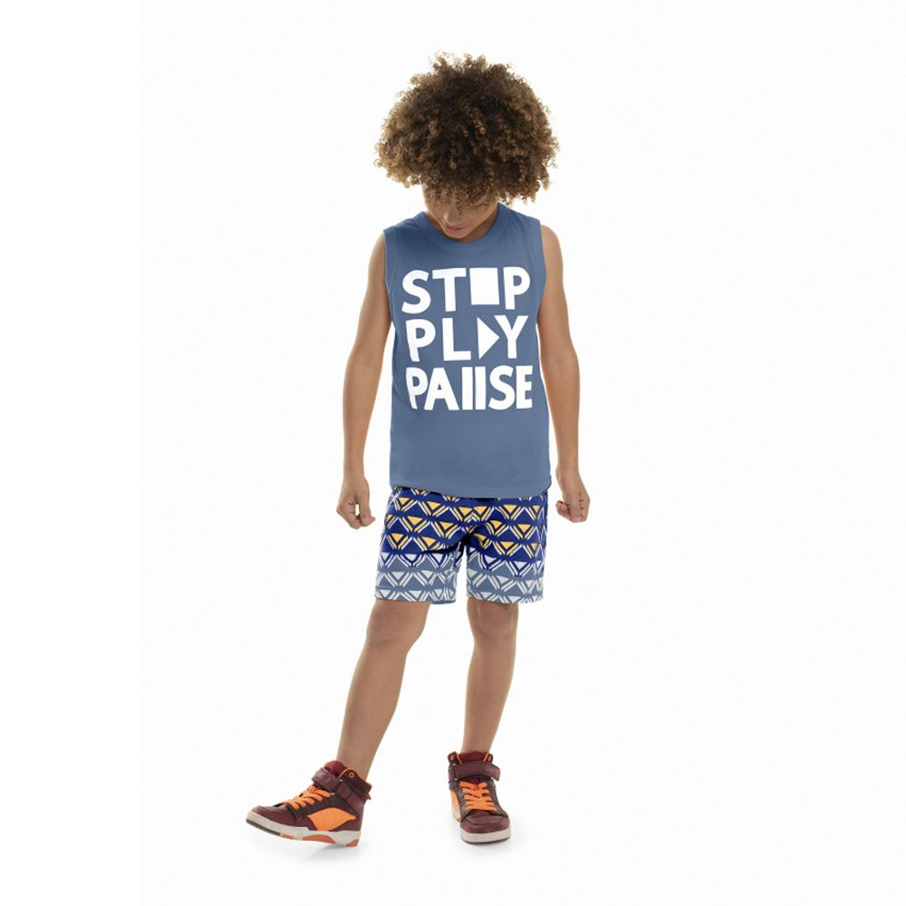Conjunto Menino Bee Loop Stop Play 13608