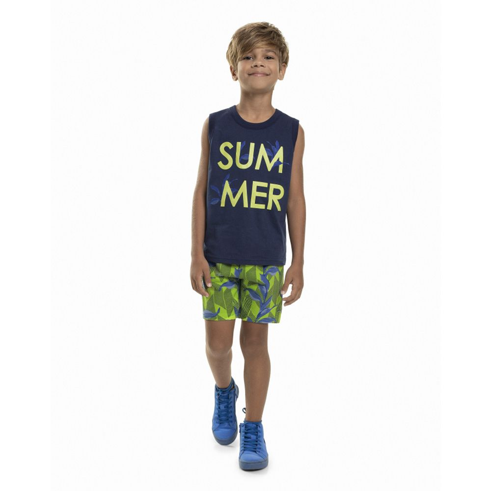 Conjunto Menino Bee Loop Summer 13607