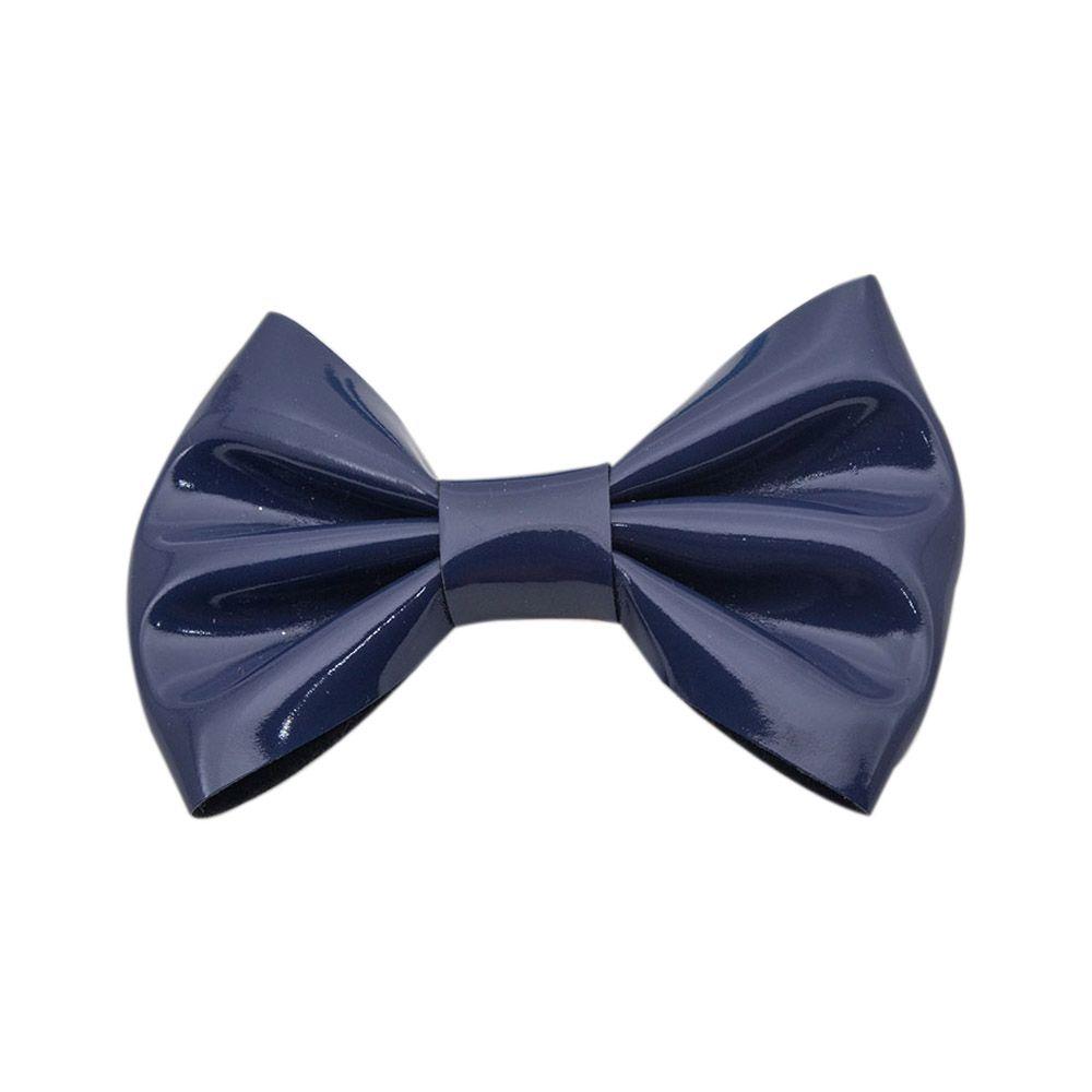 Laço Menina Mug Verniz Azul Marinho