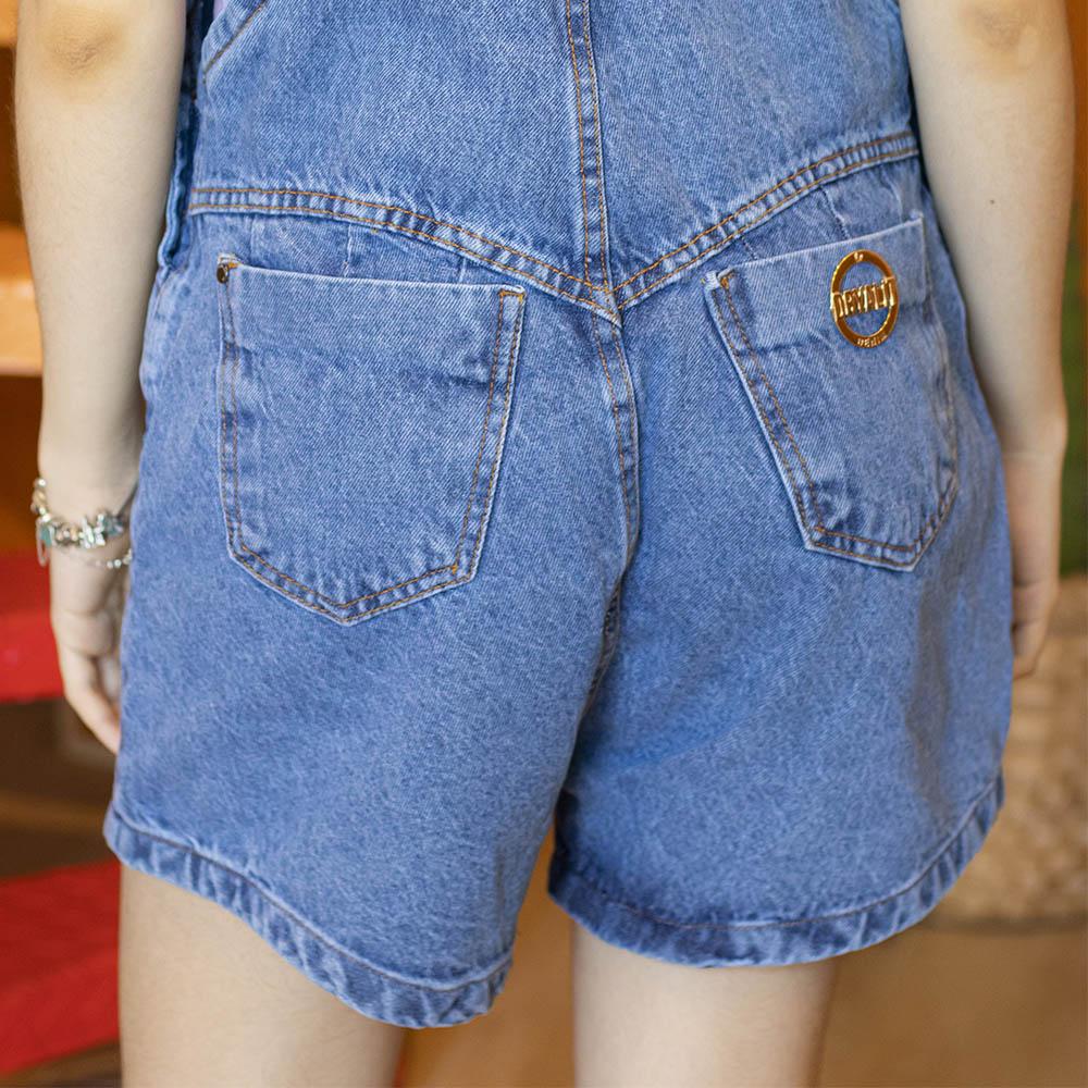 Macacão Dryalit Jeans com Botões 83BDRYB