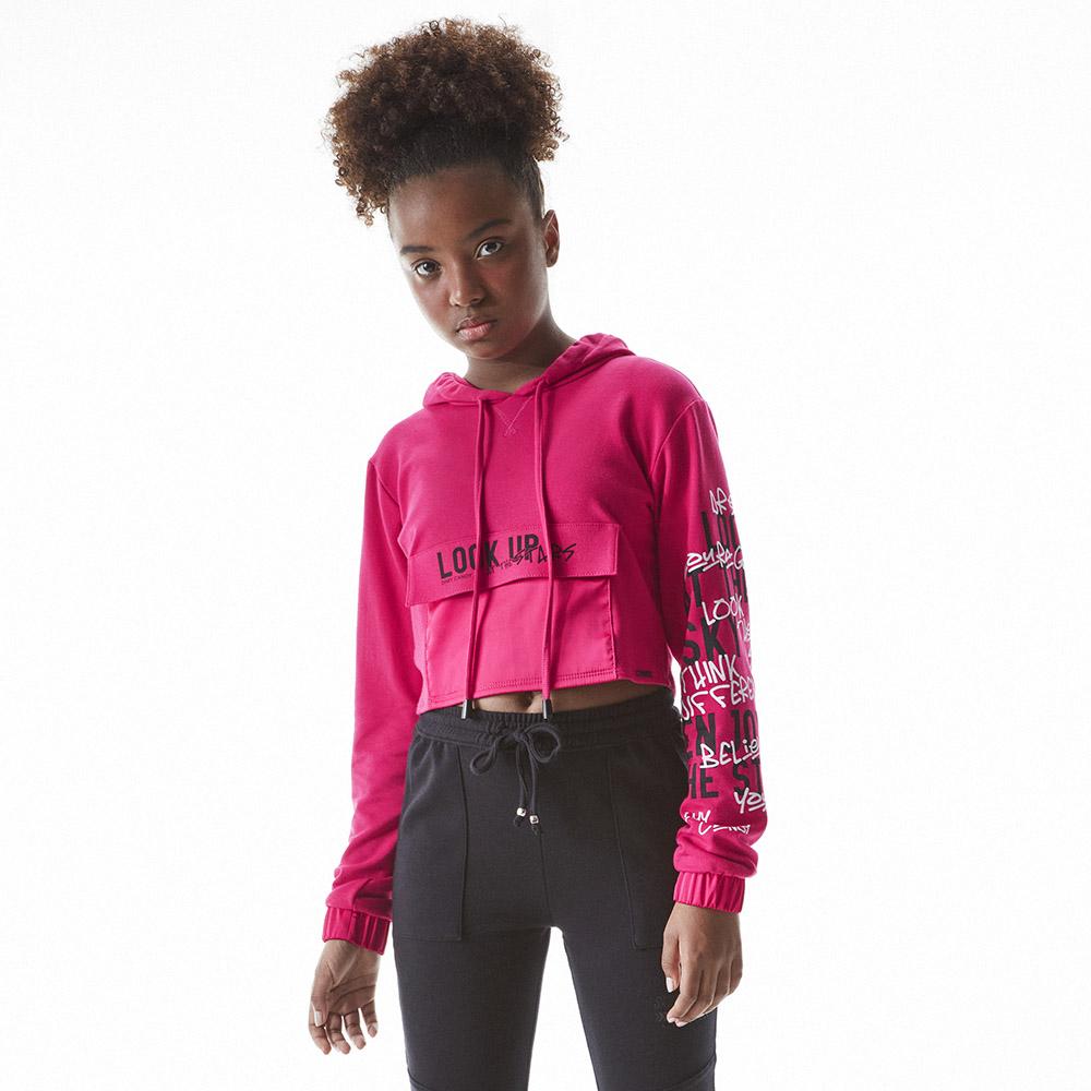 Moletom Dimy Candy Pink Com Cetim 82390