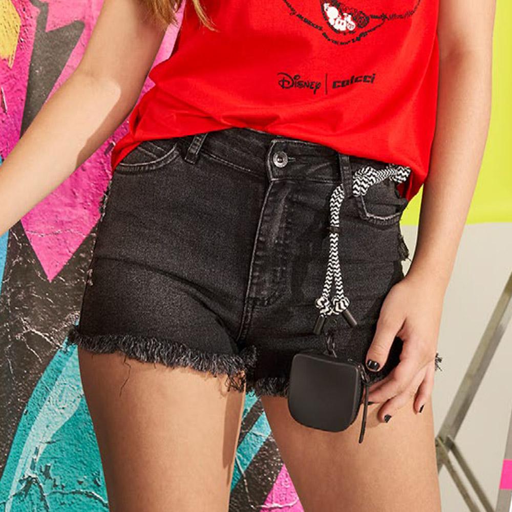 Short Colcci Fun Jeans Tay Preto 65300399