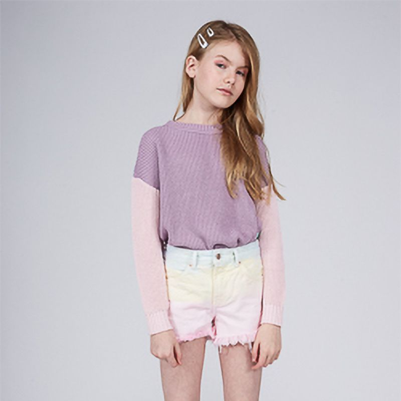 Short Menina Dimy Candy Boyfriend Tie Dye 81740