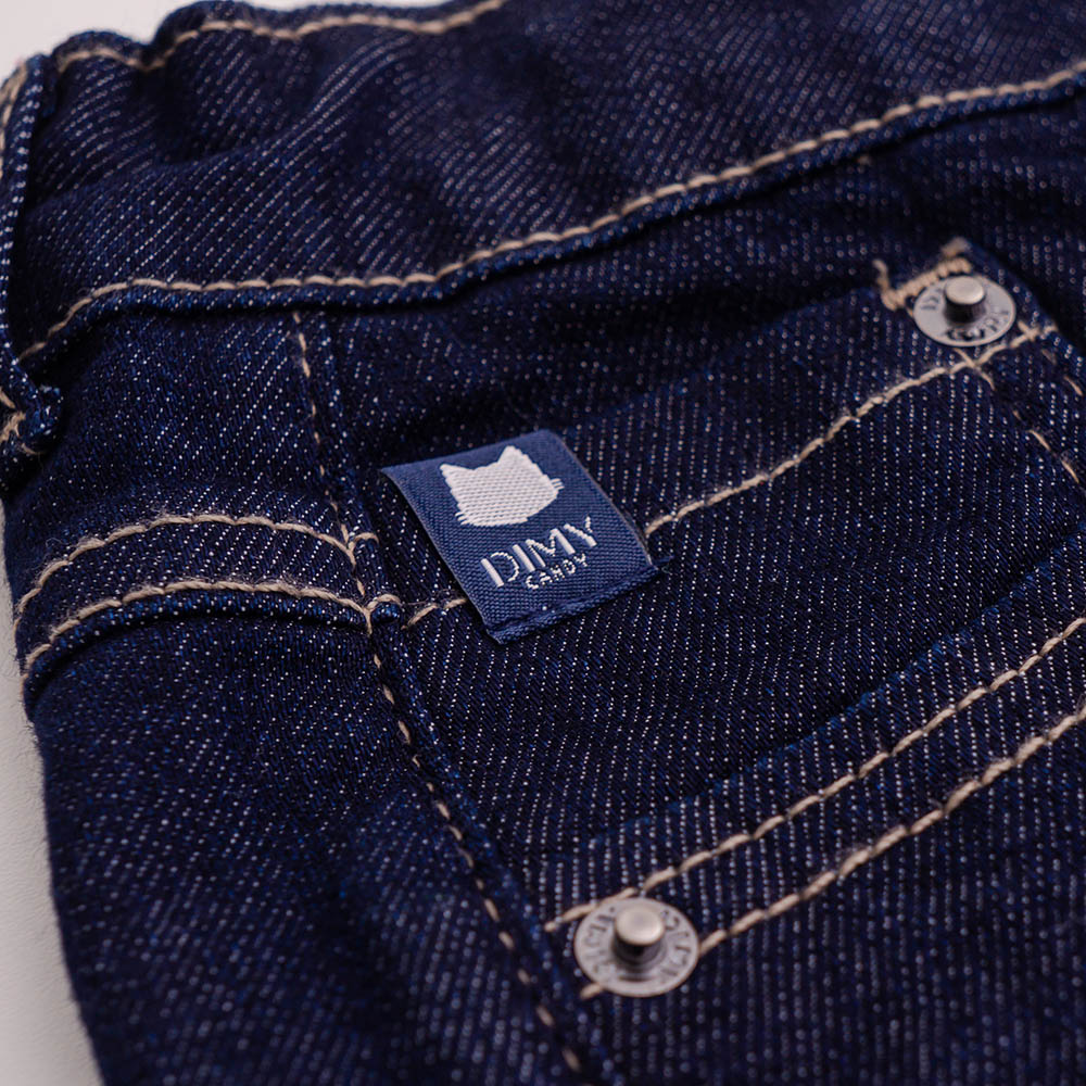 Short Dimy Candy Jeans Escuro 82258