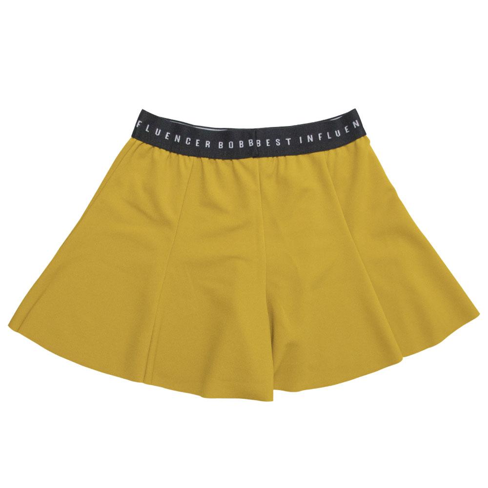 Short Saia Bobbylulu Girlie Amarelo B22028
