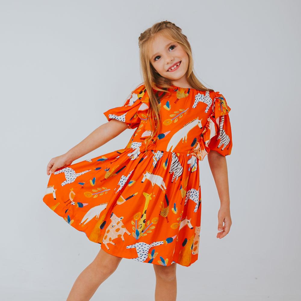 Vestido Amo Little Manga Bicharada 1211