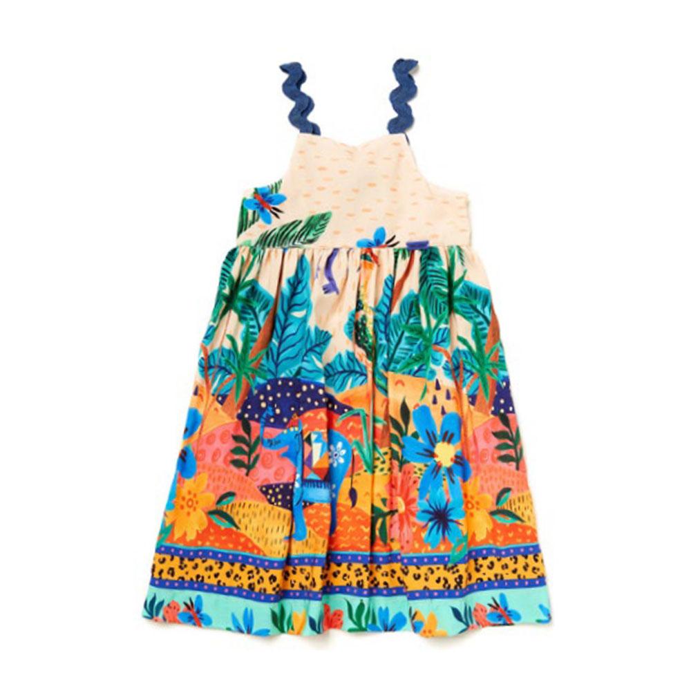 Vestido Camu Camu Bebê Selva 8414