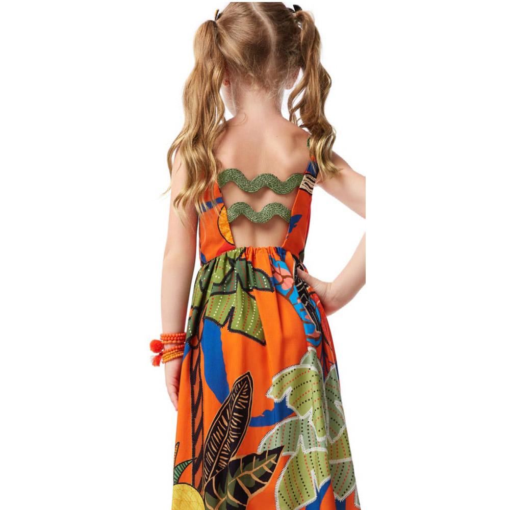 Vestido Camu Camu De Alcas Tropicalia 8231
