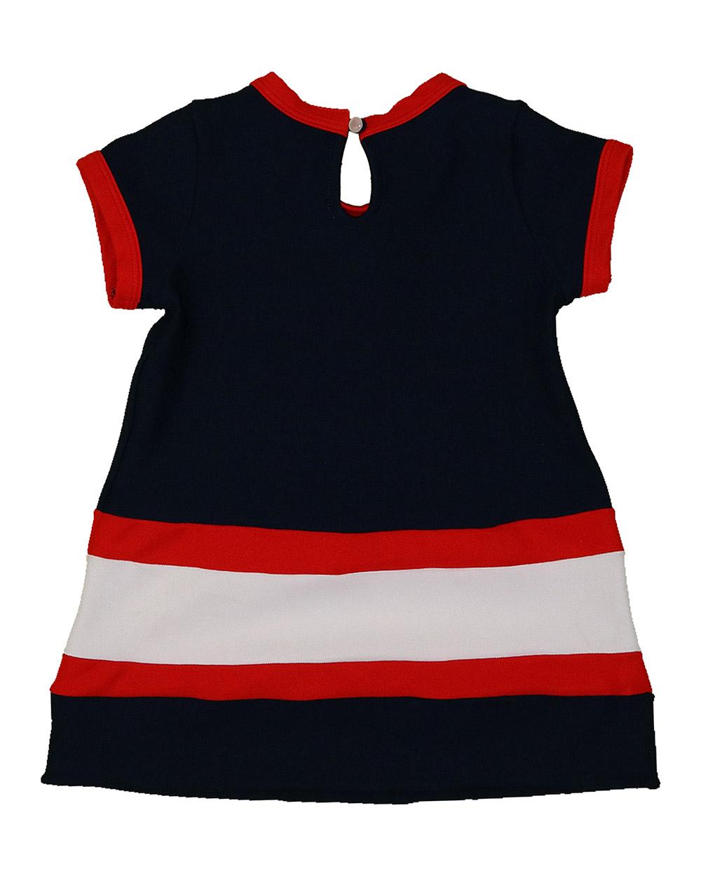 Vestido Menina Beabá Navy 808000