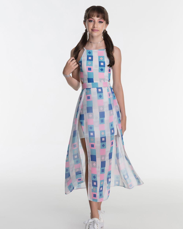 Vestido Menina Bobbylulu Squares 20S322