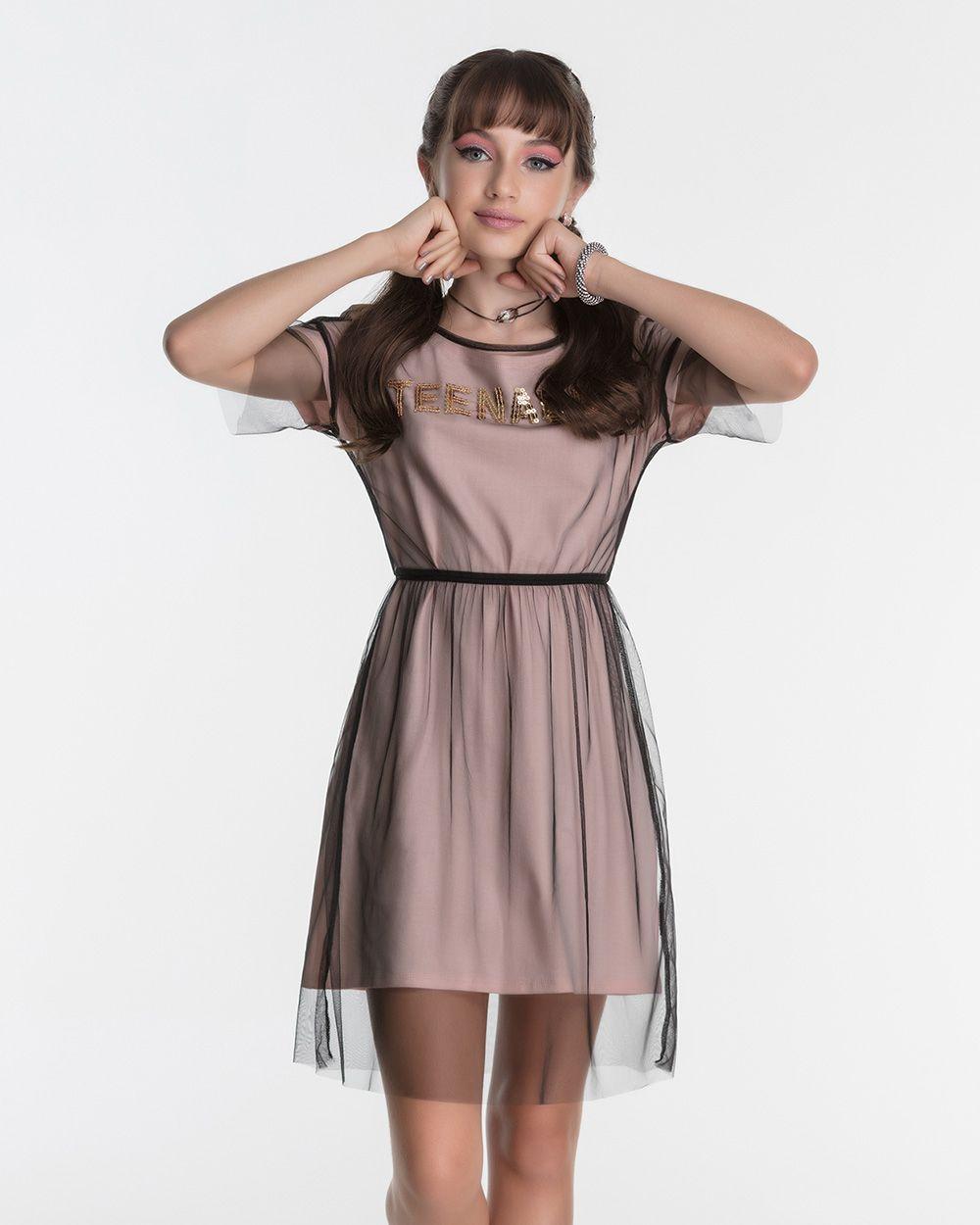 Vestido Menina Bobbylulu Teenager Sobreposição 20S345
