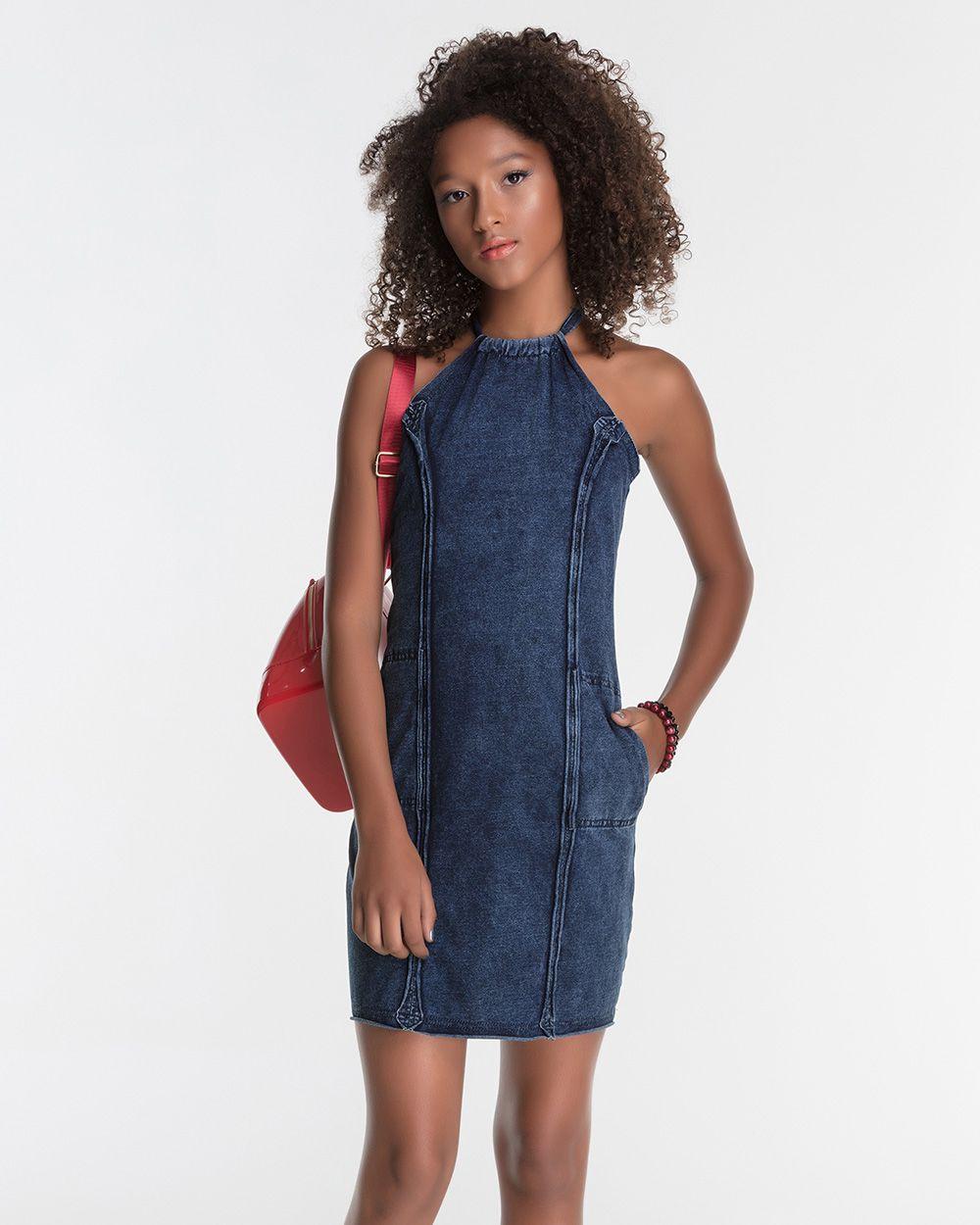 Vestido Menina Bobbylulu Trendy Jeans 20S333