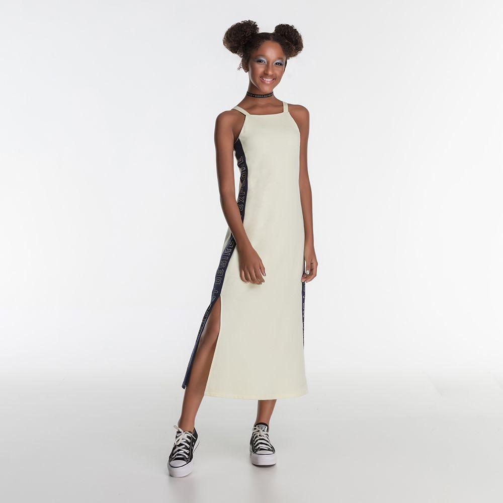 Vestido Menina Bobbylulu Wanderlust Amarelo 20S335