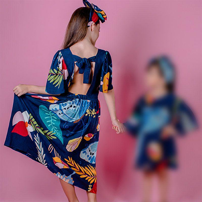 Vestido Menina Chuá Borboleta Vt2102