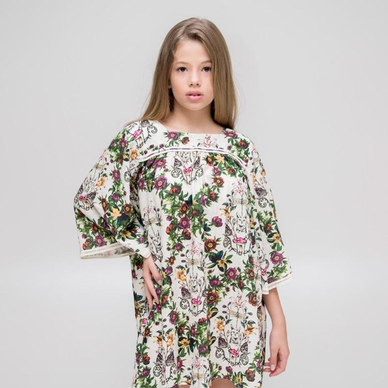 Vestido Chuá Floral Linho 1501