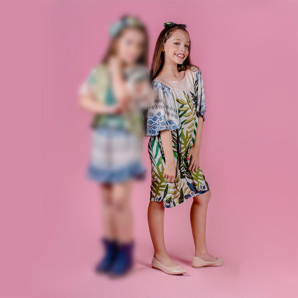 Vestido Menina Chuá Miragem Vt2701