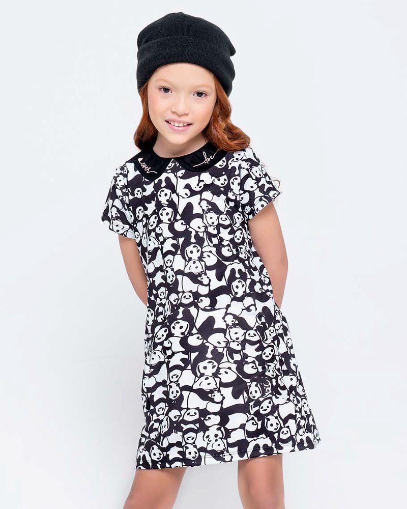 Vestido Menina Ever Be Maxicotton Panda 60032