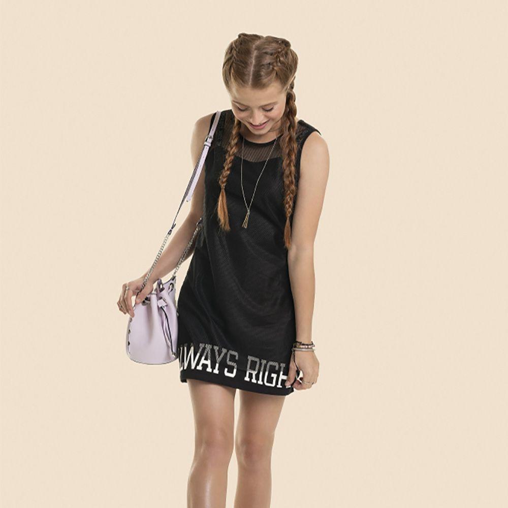 Vestido Menina Gloss Kit Vestido Tela 30993