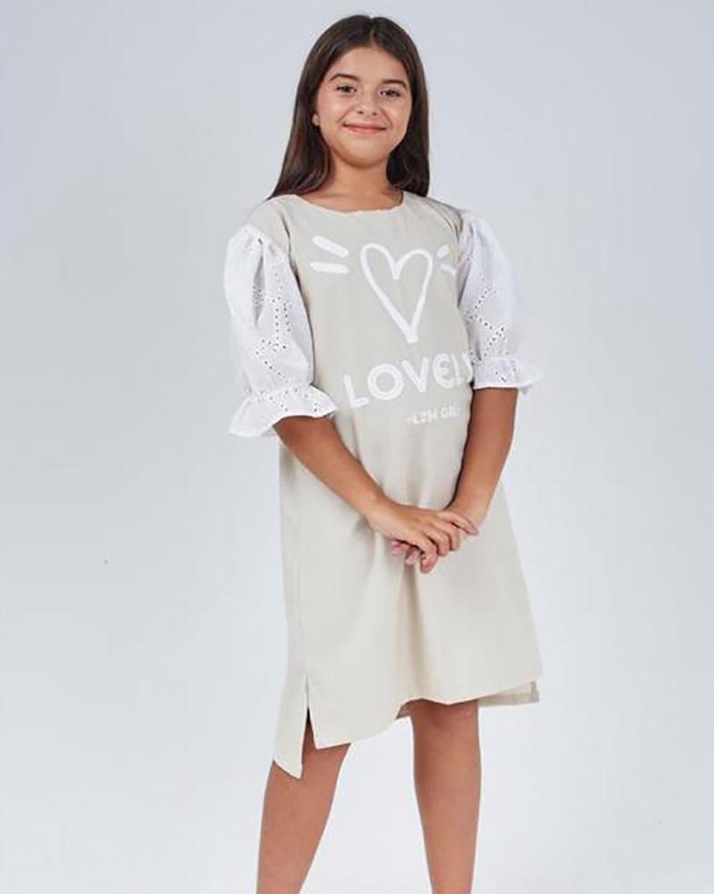 Vestido Menina L2M Valentina 4340