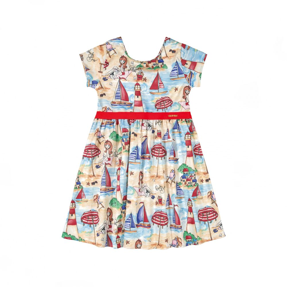 Vestido Menina Quimby Praia 28114
