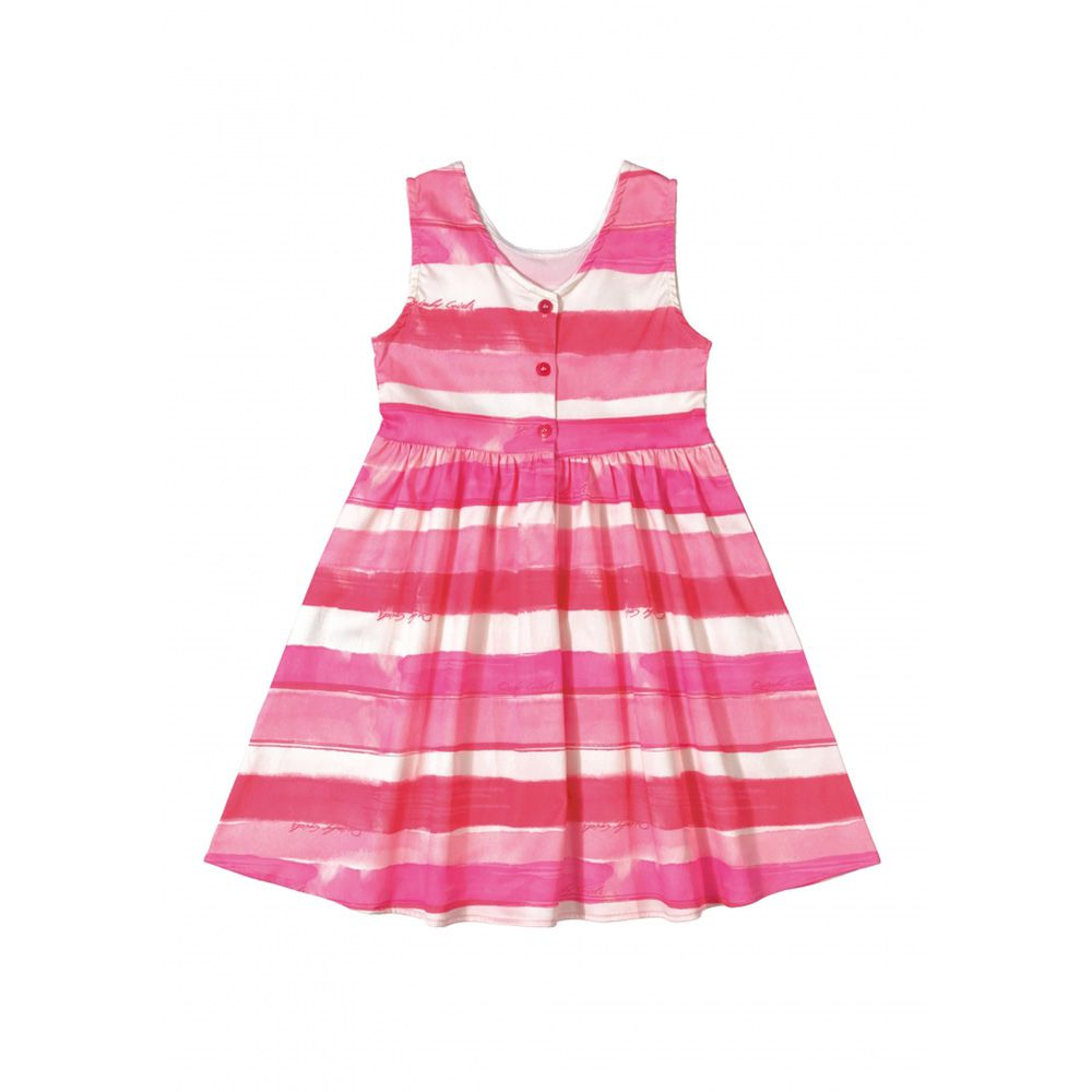 Vestido Quimby Sem Manga Pink Paradise 28016