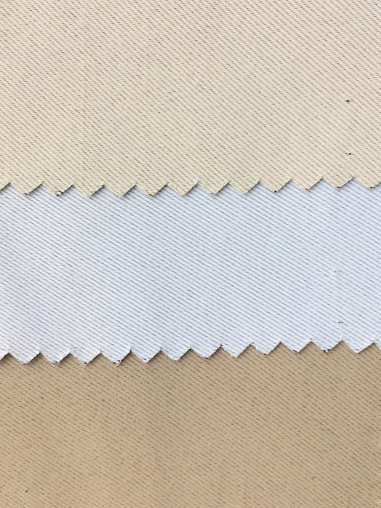 Cortina para trilho 2,00 x 1,80m Marselha Tecido Blackout e Voil - bege