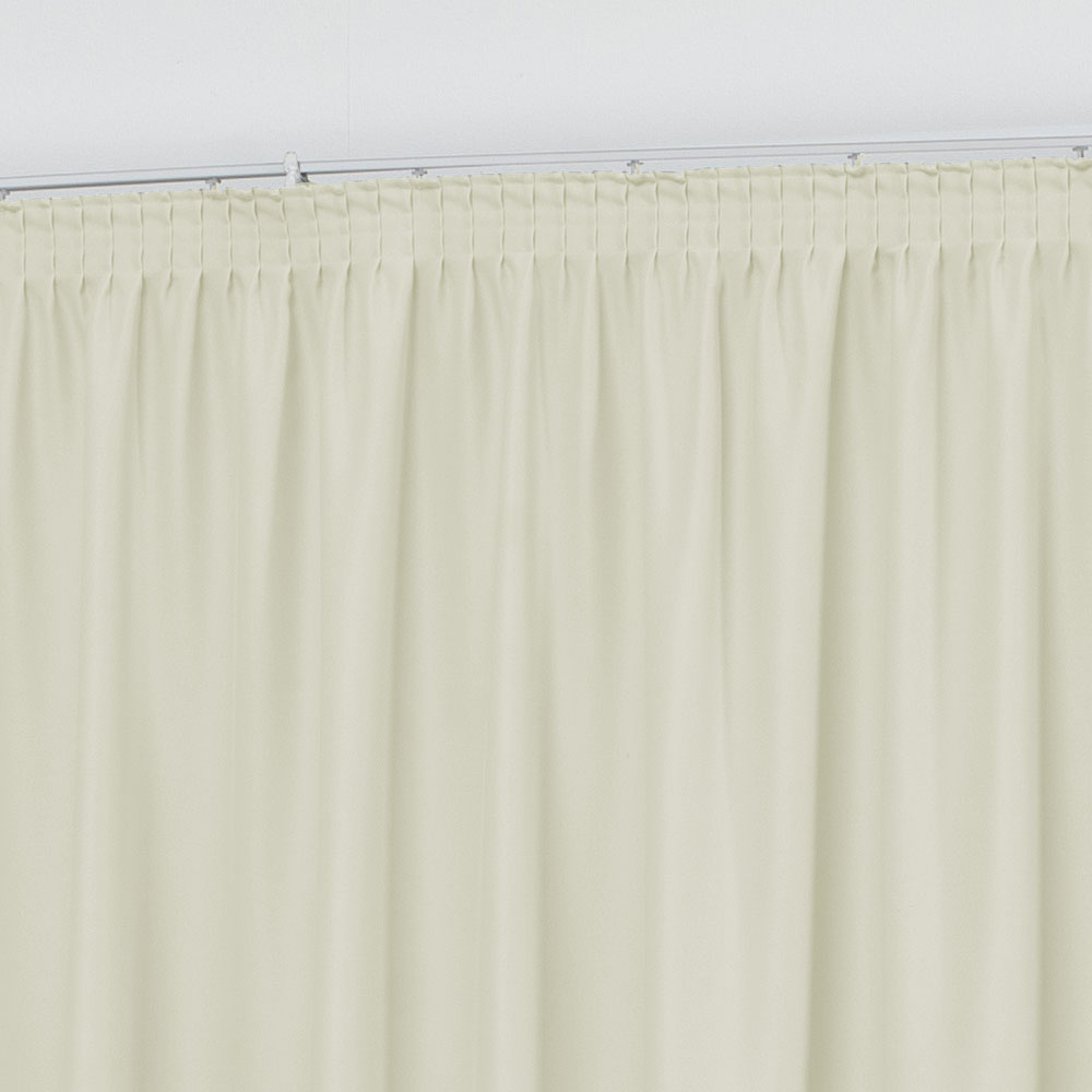 Cortina para Trilho Suisso 3,00 x 2,60m Monaco Tecido Oxford - Perola