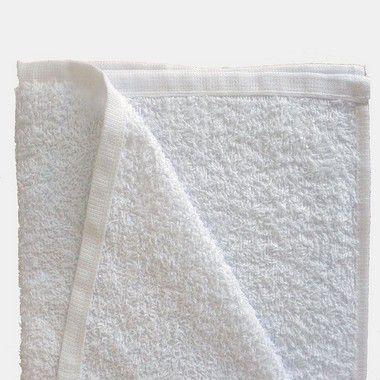Kit Com 12 toalhas de Mão para Salão 29 x 45cm  -  Branco